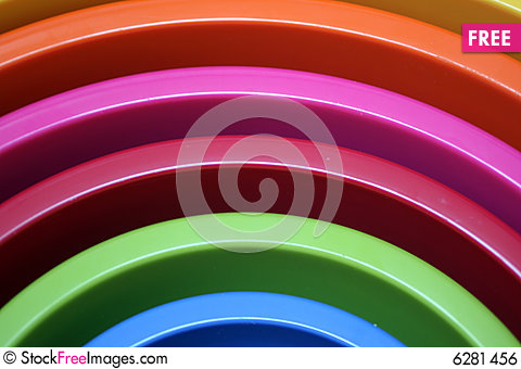 Free Plastic Bowls Royalty Free Stock Image - 6281456