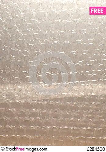 Free Bubble Wrap Background Stock Photo - 6284500