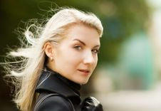 Free Beautiful Young Woman Outdoors Stock Photography - 6280022