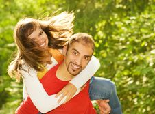 Free Young Couple In Love Royalty Free Stock Photo - 6280055