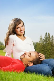 Free Young Couple In Love Stock Image - 6280121