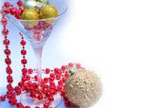 Free Glass Ball Garland Royalty Free Stock Photos - 6280188