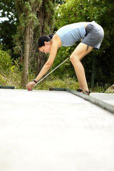 Free Mini Golf Royalty Free Stock Photos - 6280698