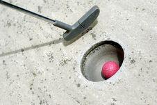Free Mini Golf Stock Photography - 6280982