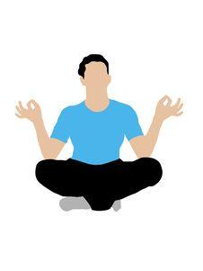 Free Meditating Man Stock Photography - 6281272