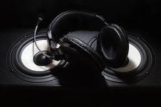 Free Headphones Stock Photography - 6281652