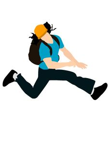 Free Jumping Man Royalty Free Stock Image - 6281696