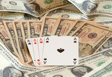 Free Four Aces Stock Image - 6281741
