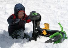 Free Stuck In The Snow 2 Stock Image - 6281801