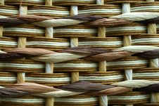 Free Background Braided From Wooden Wickers Stock Photo - 6281860