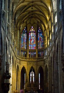 Free Inside Cathedral Royalty Free Stock Image - 6282266