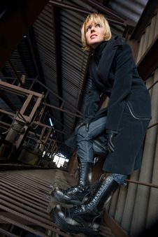 Free Predatory Girl Stock Photography - 6282602