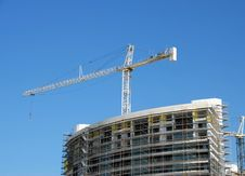 Free Crane At Constructiion Site Royalty Free Stock Photo - 6283135