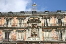 Free Plaza Mayor Of Madrid Stock Photo - 6283170