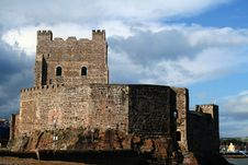 Free Carrickfergus Castle South View Royalty Free Stock Photo - 6283345