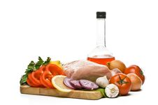Free Fresh Meat With Vegetables Royalty Free Stock Photo - 6283555