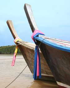 Free Longtail Boats Stock Photography - 6284542