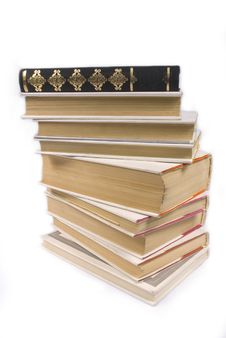 Free Isolated Books Stock Photo - 6284620