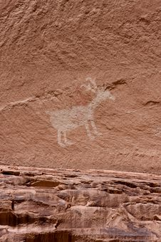 Free Carvings And Ancient Art On Canyon Walls Stock Photo - 6284780