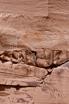 Free Carvings And Ancient Art On Canyon Walls Royalty Free Stock Photos - 6284828