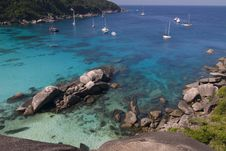 Free Similan Island, Donald Duck Bay Stock Image - 6284841