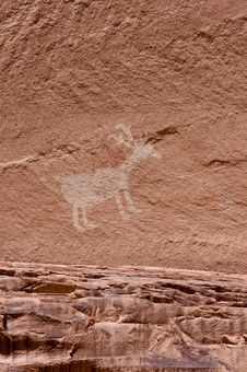 Free Carvings And Ancient Art On Canyon Walls Royalty Free Stock Photography - 6284857