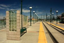 Free Light Rail Station Royalty Free Stock Images - 6285139