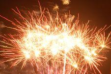 Free Fireworks Background Stock Image - 6285811