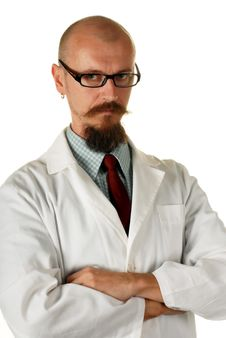 Young Attractive Male Doctor Stock Photo