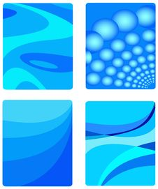 Free Abstract In Blue Stock Image - 6286441