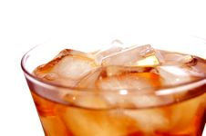 Ice Filled Soft Drink Royalty Free Stock Photography