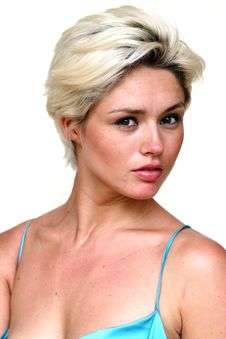 Gorgeous Blond Female Stock Photo