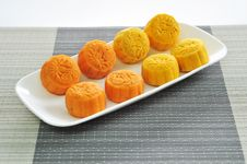 Free Mooncakes 2 Royalty Free Stock Photography - 6288097