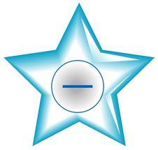 Free Star Web Button Stock Photos - 6288183