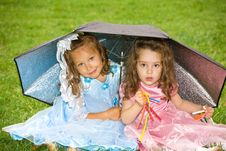 Playful Kids Royalty Free Stock Images