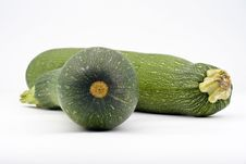 Free Fresh Zucchini Isolated Royalty Free Stock Image - 6289086