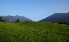 Free Evening In The Alpes. Stock Image - 6289391