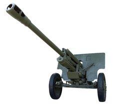Free Soviet Gun Royalty Free Stock Image - 6289586