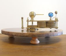 Orrery Ferguson S Paradox Machine Model. Royalty Free Stock Photography