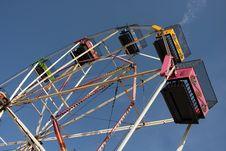 Free Funfair Wheel Royalty Free Stock Photo - 6290245
