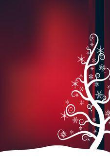 Free Christmas Snow Tree Stock Photos - 6290633