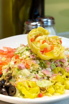 Free Fresh Artichoke Salad Stock Image - 6291601
