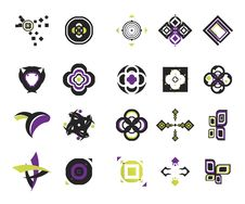 Free Vector Icons - Elements 18 Royalty Free Stock Images - 6292089