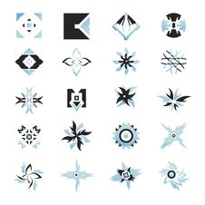 Free Vector Icons - Elements 19 Royalty Free Stock Photos - 6292198