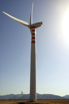 Free Wind Power Generator Royalty Free Stock Photos - 6292288
