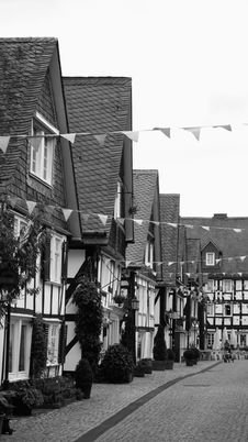 Free Decorated Old Town Stock Photography - 6292352