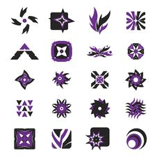 Vector Icons - Elements 29 Royalty Free Stock Photography