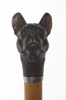 Free Old-fashioned Dog Head Sculpture Stock Images - 6293074