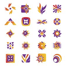 Free Vector Icons - Elements 30 Royalty Free Stock Photography - 6293087
