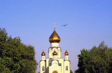 Free Church Of Sainted Vladimir Royalty Free Stock Photos - 6293378
